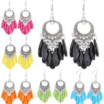 Sale Fashion Women Beauty Cute Ear Jewelry Daisy Flower Stud Tear Drop E... - $7.90