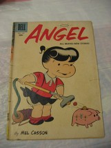 angel #12 good to very good condition 1958 dell comics - $7.89