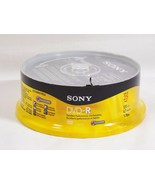 Sony DVD-R Blank Media Discs 4.7 GB 1-16x 120 Minutes 25 Pack Spindle NEW - $19.79