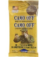 Camo Off - Camouflage Paint Make Up Remover Wipes 30 Pack - $8.99