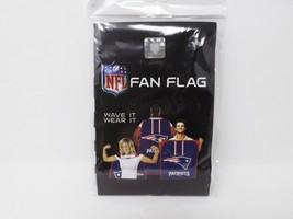 Little Earth Prod. NFL New England Patriots Fan Flag - New - $14.99
