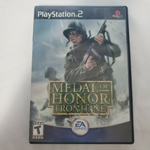Medal of Honor Frontline (Sony PlayStation 2 , 2002) PS2 Complete Tested - $2.49
