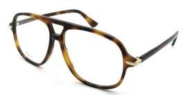 Christian Dior Eyeglasses Frames Dior Essence 16 086 55-14-145 Dark Havana - $196.00