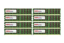 MemoryMasters 128GB (16x8GB) DDR2-667MHz PC2-5300 ECC RDIMM 2Rx4 1.8V Registered - $336.41