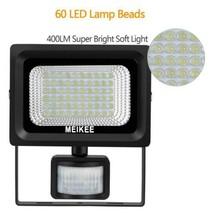 MEIKEE Projecteur solaire Détecteur de Mouvement 60LEDs sans Batterie La... - $35.15