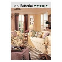 Butterick Patterns B3877 Drapes, Slipcovers & Pillows, All Sizes - $15.68