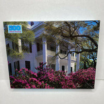 "Vintage Golden 500 Piece Jigsaw Puzzle ""Natchez Mansion"" 15.5"" x 18"" New SEALED - $13.99"