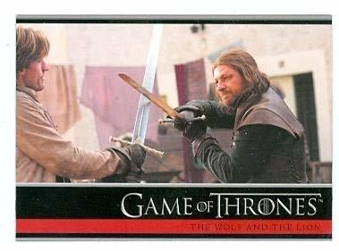 Primary image for Game of Thrones trading card #15 2012 Jaime Lannister and Ned Stark