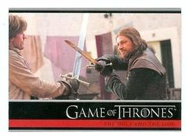 Game of Thrones trading card #15 2012 Jaime Lannister and Ned Stark - $4.00