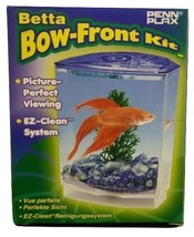 Betta Bow-front Kit, Penn Plax Picture Perfect, EZ-Clean