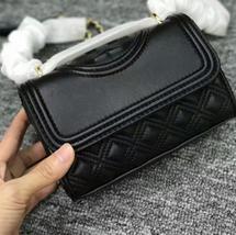 NWT Tory Burch Fleming Micro Shoulder Bag (Black) - $221.00