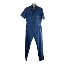 Dickies Mens Blue Short Sleeve Work Coveralls - $30.00