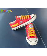 Kansas city chiefs shoes kc chiefs sneakers super sowl fashion birthday ... - $59.99