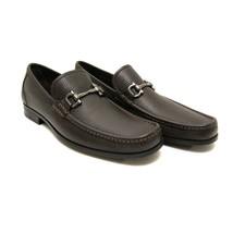 J-3618324 Neuf Salvatore Ferragamo Noir Galets Flâneuses Chaussures Tail... - $402.12