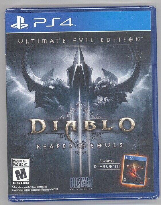 Diablo III - Reaper of Souls Ultimate Edition PS4 New Spanish Game Playstation 4