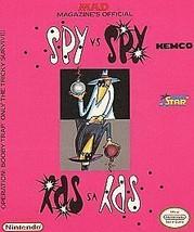 Spy vs. Spy (Nintendo Entertainment System, 1988) - $3.95