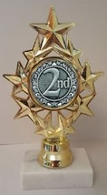 "2nd Place Trophy 7"" Tall As Low As $3.99 Each Free Shipping T04N14 - $7.99+"