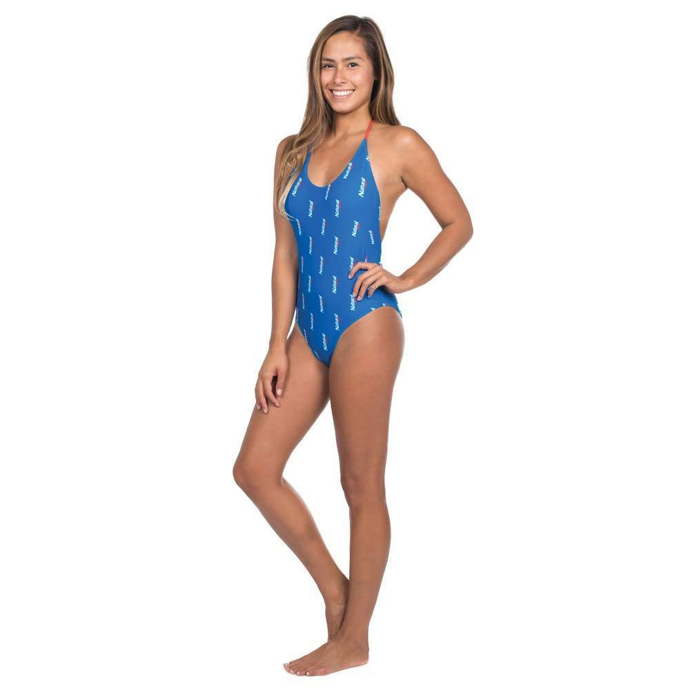 7380615ebb9 Natural Light One Piece Ladies Swimsuit Blue and 50 similar items. S l1600