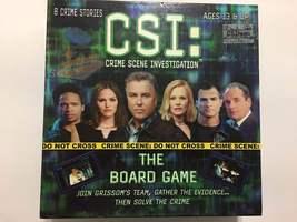 CSI Crime Scene Investigation Board Game - $25.25