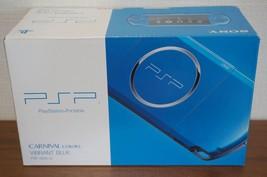 PSP Playstation Portable Vibrant Blue PSP - 3000 VB From Japan - $333.45
