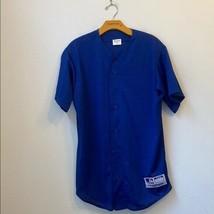 Mlb Majestic Blue Jersey Size Medium - $36.63