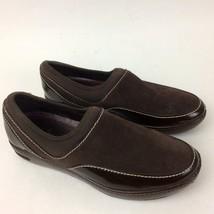 Cole Haan N. Air Kadin Womens Waterproof Loafers Slip On 8B Dark Chocolate - $41.57