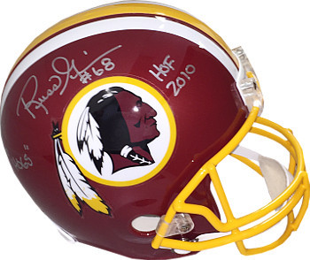 Primary image for Russ Grimm signed Washington Redskins Riddell Full Size Replica Helmet dual #68
