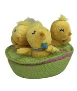 The Happy Easter Tweets Singing Chicks Hallmark Motion Battery operated - $12.82