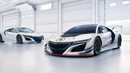 2017 Acura nsx gt3 24X36 inch poster, sports car - $21.77