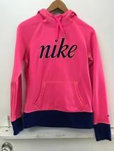 Nike Therma Fit All Time Script GRX Sweatshirt Hoodie pink 624420-639 wo... - $19.95