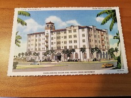 "Antique Postcard entitled ""The Braznell, Miami Beach, Florida"" - $4.94"