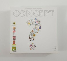 Concept Party Board Game by Repos Ages 10+ 4-10 Players Quiz Riddle EUC - $20.56