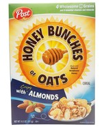 Honey Bunches of Oats with Crispy Almonds, 14.5-Ounce Box - $11.87