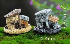 Mini House Cottages Crafts Figure Terrarium Fairy Garden Ornament Landsc... - $3.95+