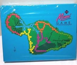 THE MAUI BOARD GAME VINTAGE Millenium Productions 1988 RARE NIB NEW - $19.75