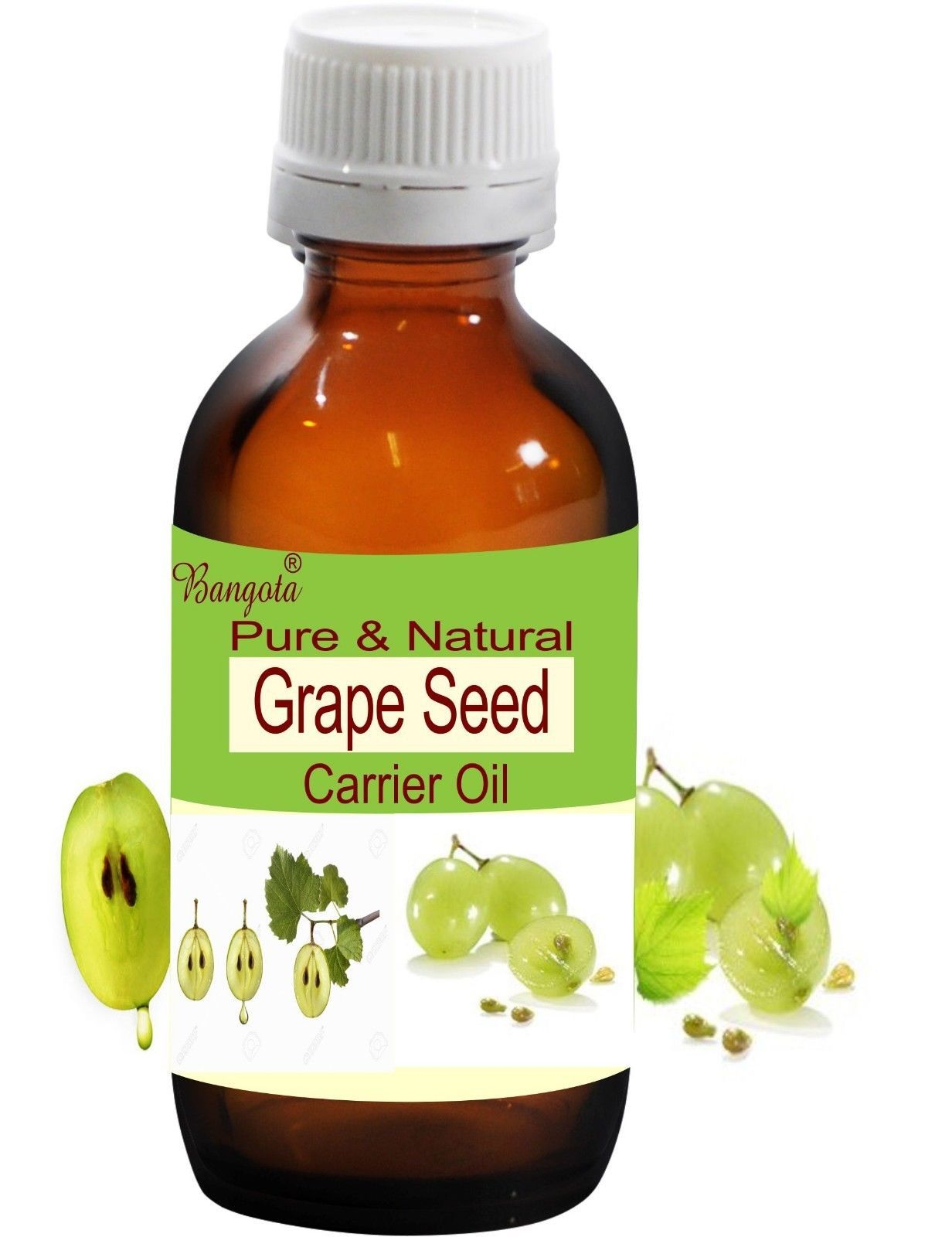 Primary image for Grape Seed Oil- Pure & Natural Carrier Oil- 15ml Vitis vinifera by Bangota