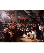 The Death of Nelson Painting by Benjamin West Art Reproduction - $32.99+