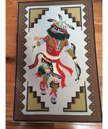Vintage Handmade Finished / Completed  Show Fawh Kachina Needlepoint L32... - $150.58