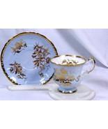 Paragon Golden Rose Tea Cup And Saucer Set Circa 1969 - $37.79