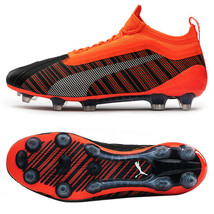 Puma ONE 5.1 FG/AG Football Shoes Soccer Cleats Boots Orange 10557801 - $189.99+
