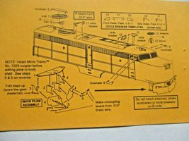 Gold Medal Models # 160-49 Con-Cor Alco PA/PDB Diesel Loco Detail Parts N-Scale image 3