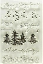 Stampendous Evergreen Borders Clear Stamp Set #SSC1012 - $9.99