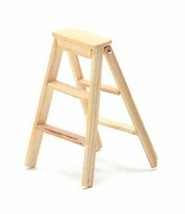 Doll House Miniature 2in High Stepladder - $22.15
