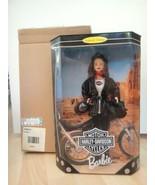 Collector Harley Davidson Barbie Doll #3 w/Shipper Mattel 22256  MIB - $35.60