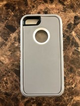 Defender series Case for iPhone SE iPhone 5s iPhone 5 Grey White - $5.86