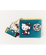 New with tag, Hello Kitty x Dylan's Candy Bar Exclusive Blue Wallet Coin... - $17.88