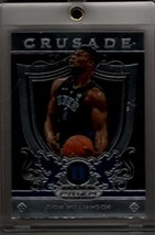 ZION WILLIAMSON 2019-20 Panini Prizm Draft Picks Crusade Rookie RC #51 w... - $19.31