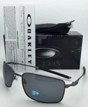 Polarizados Gafas de Sol Oakley Alambre Cuadrado Oo4075-04 Carbón Monturas