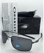 Polarizados Gafas de Sol Oakley Alambre Cuadrado Oo4075-04 Carbón Monturas - $209.54
