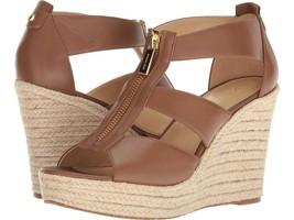 MICHAEL Michael Kors Damita Wedge Luggage Shoes Size 10 - $99.99